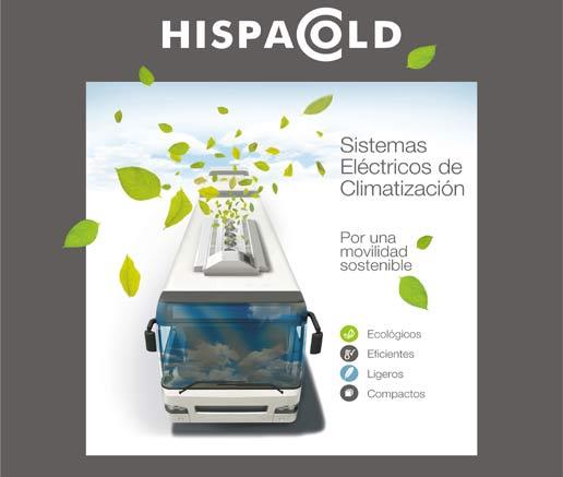 Hispacold acudirá a Busworld con nuevos desarrollos que amplían su gama de sistemas eléctricos de climatización