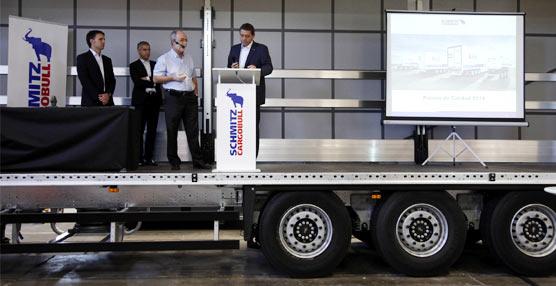 La fábrica de Schmitz Cargobull Ibérica se hace con el prestigioso premio interno 'Top-Product-Quality-Award'