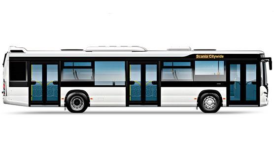 Las dos unidades son del modelo Scania Citywide Low Floor de 12 metros.