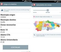 El Principado de Asturias lanza una aplicación informática renovada para hacer más atractivo el uso del transporte público