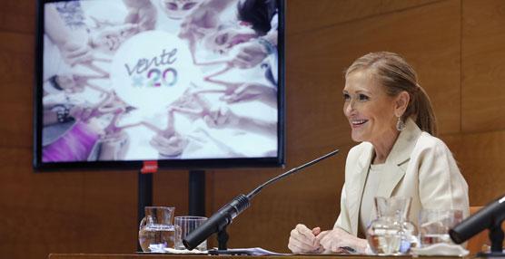 La Comunidad de Madrid anima a los jóvenes a usar el transporte público con el lema 'Ventex20'