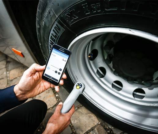 Michelin Tire Care es el nuevo conjunto de soluciones telemáticas para una mejor gestión de los neumáticos