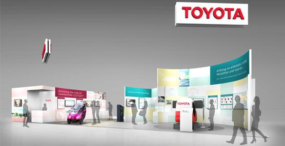 Toyota exhibe las iniciativas actuales en movilidad inteligente en el Congreso Mundial de ITS