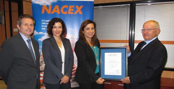 Nacex primer empresa certificada por AENOR en buenas prácticas de Distribución de Medicamentos para uso humano (GDP)