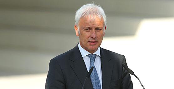 Matthias Müller, reciente director general de Volkswagen, afirma que la marca superará esta crisis