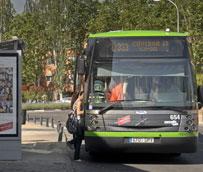 El número de usuarios del transporte público aumenta un 2,5% en agosto respecto al mismo mes de 2014