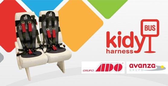 ADO Avanza añade a sus servicios Kidybus Harness, un vanguardista sistema de seguridad infantil