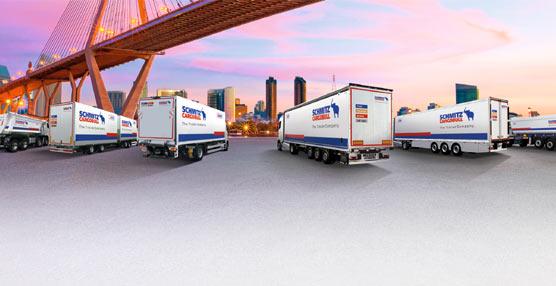 Schmitz Cargobull mantiene su posición de privilegio en el Sector debido a su diversidad de mercados