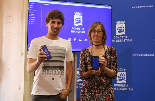 San Sebastián crea una nueva 'app', que facilitará la movilidad
