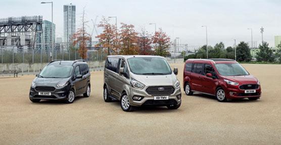 Ford lideró la venta de comerciales en Europa en 2018