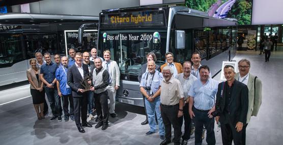 El Mercedes Citaro Hybrid es el 'Bus of the Year' 2019