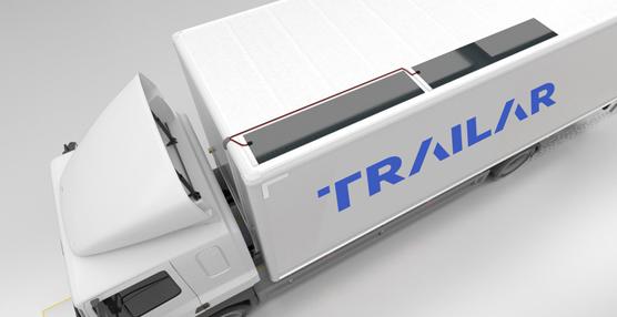 Trailar, solución de DHL para recarga de baterías con energía solar