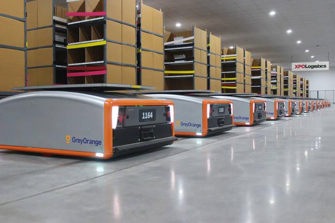 Los almacenes de XPO tendrán 5.000 robots en Europa y Norteamérica