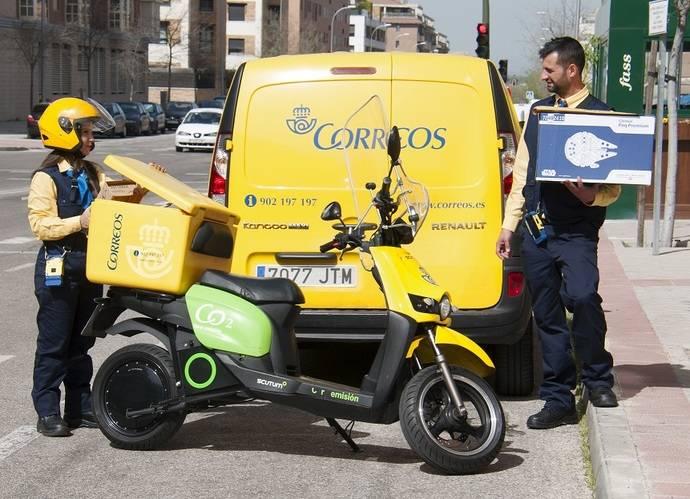 El Grupo Correos repartió más de 165 millones de paquetes en 2018