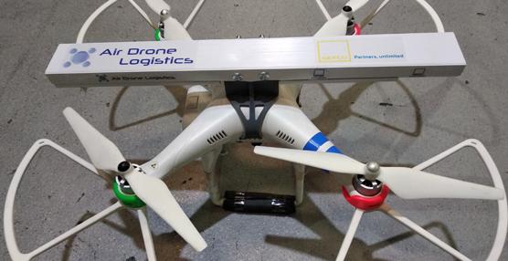 Gefco lleva a cabo pruebas con drones para realizar sus inventarios