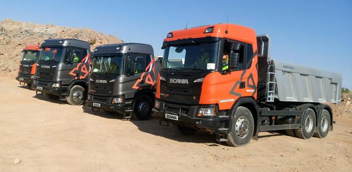 Scania apuesta fuerte por el segmento de construcción con la gama XT