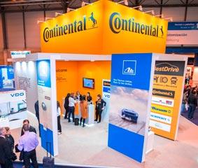 Continental estará presente en la feria Motortec