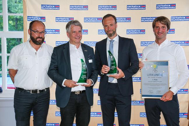 El innovador DAF CF Electric gana el premio Green Truck 2019