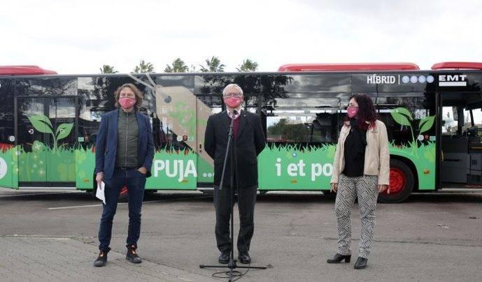 EMT Valencia incorpora 21 nuevos autobuses híbridos a su flota
