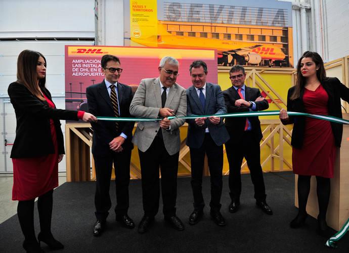 DHL inaugura la ampliación de sus instalaciones en Sevilla