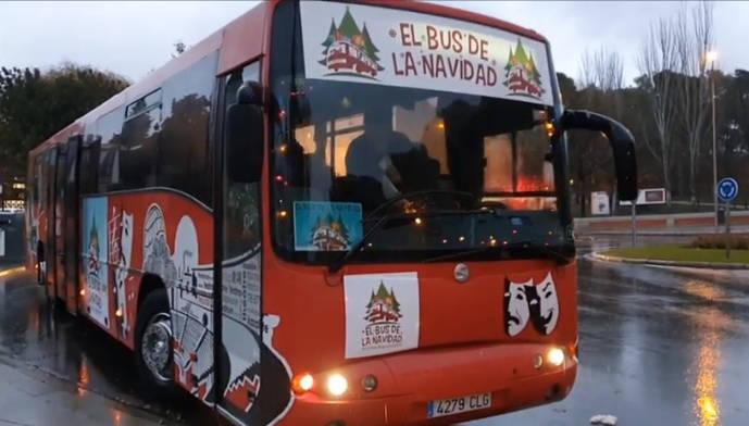 El Bus de la Navidad vuelve a las calles de Madrid