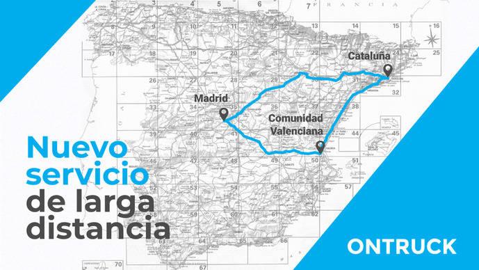 Ontruck 'unirá' Madrid, Cataluña y Comunidad Valenciana