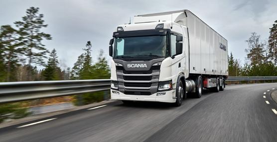 Scania, líder del sector de camiones al cierre del tercer trimestre