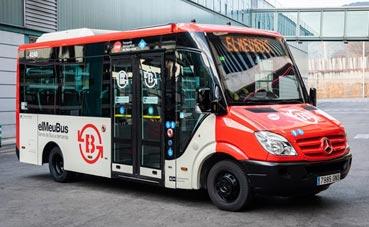 La TMB inicia el transporte en autobús a demanda en Torre Baró