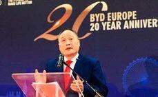 BYD festejó en Holanda sus 20 años en el país europeo