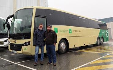 Autocares Paulino adquiere el SB3 de Sunsundegui