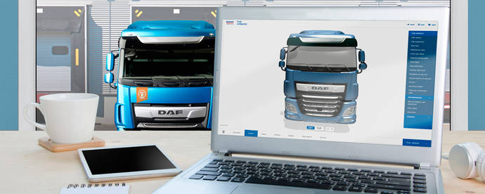 El Configurador 3D de DAF Trucks nominado a los Computable Awards