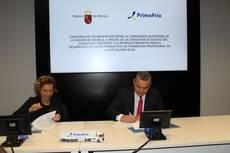 Primafrio y Educación de Murcia firman la FP Dual 4.0