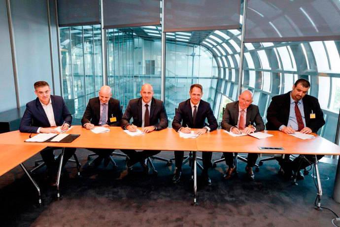 DHL extiende su red europea de paquetería con cuatro nuevos países