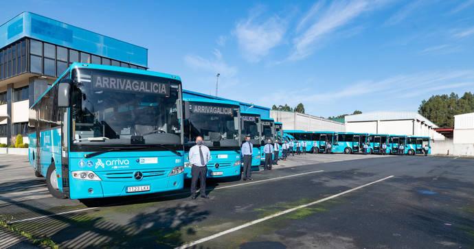 Arriva Galicia incorpora 15 nuevos vehículos al servicio