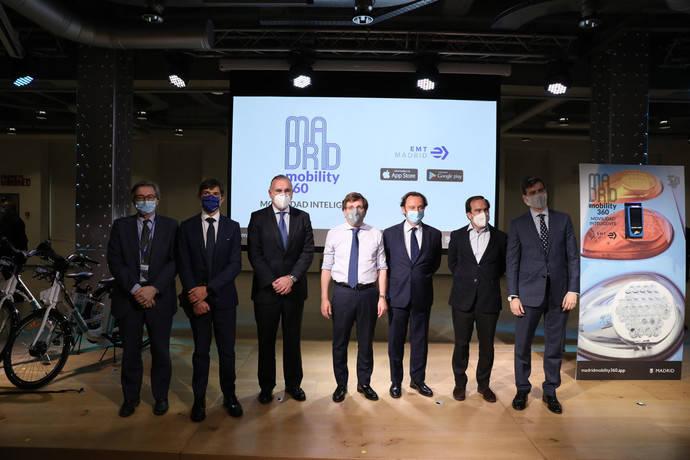 Nace Madrid Mobility 360, aplicación con control de ocupación en autobuses