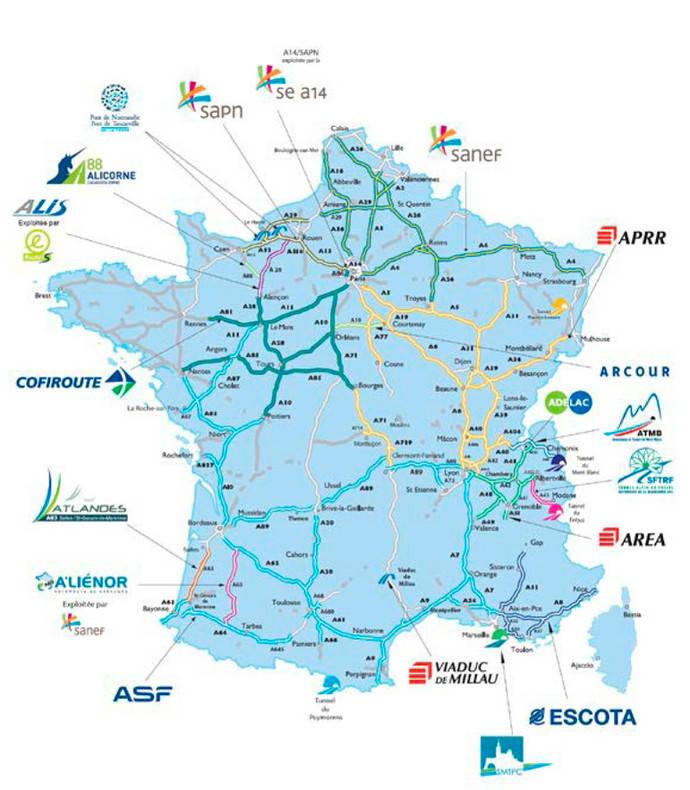Francia y Alemania aumentarán las tarifas de peaje