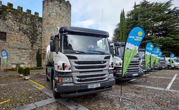 Nuevos vehículos Scania para la recogida de residuos del Bajo Tiétar