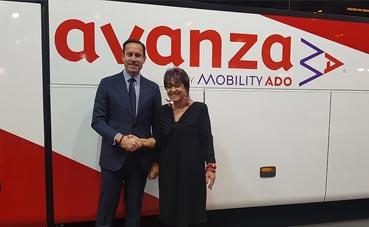 Avanza y Turismo de Segovia firman un acuerdo en el marco de Fitur