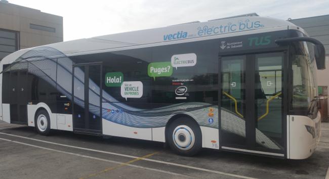 Sabadell probará un híbrido de Vectia en sus rutas urbabas, durante 15 días