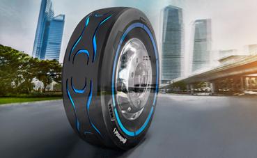 Ve la luz un neumático para camiones eléctricos