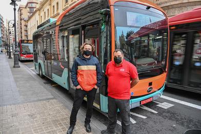 Valencia ha iniciado las pruebas con un nuevo autobús eléctrico de BYD