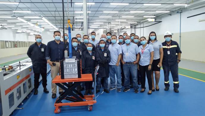 BYD inaugura su tercera planta de baterías en Brasil