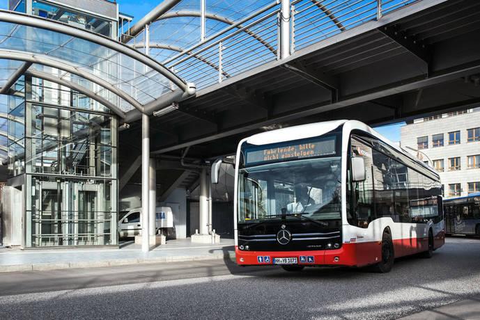 Hamburgo recibirá 530 eléctricos de Mercedes en cinco años