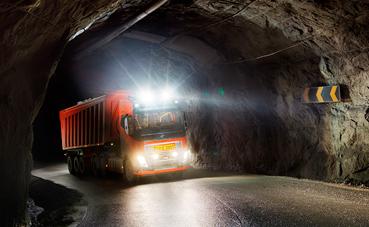 Solución autónoma de Volvo Trucks en Noruega