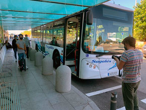 Ibiza promueve una nueva campaña en favor del transporte seguro