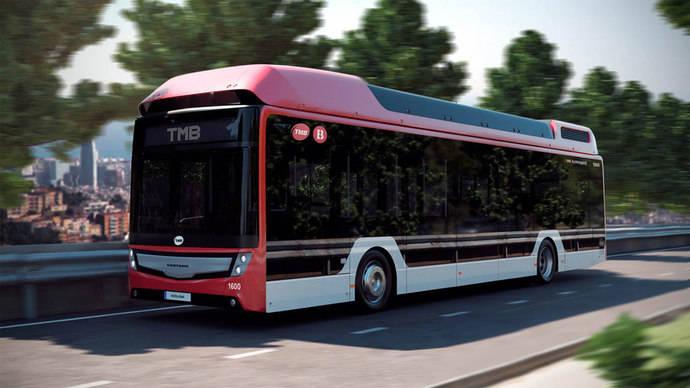 TMB y Caetano formalizan el pedido de buses de hidrógeno