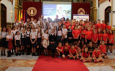 Más de 100 niños en la I Jornada sobre desarrollo sostenible