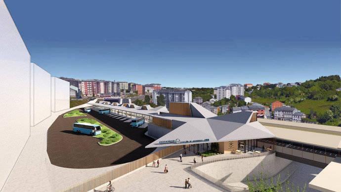La futura estación intermodal de Lugo aprueba su diseño definitivo