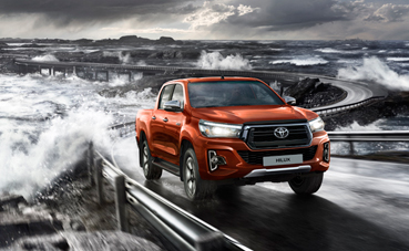 Toyota da un paso al frente con el Hilux Legend