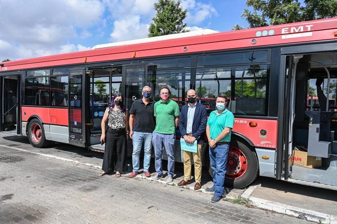 EMT dona un autobús al transporte escolar de Senegal